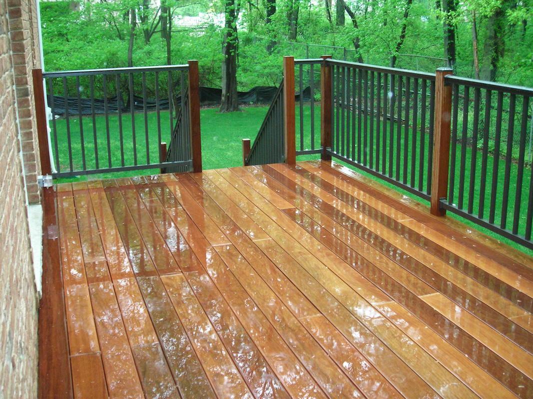 Woodrow Deck Build