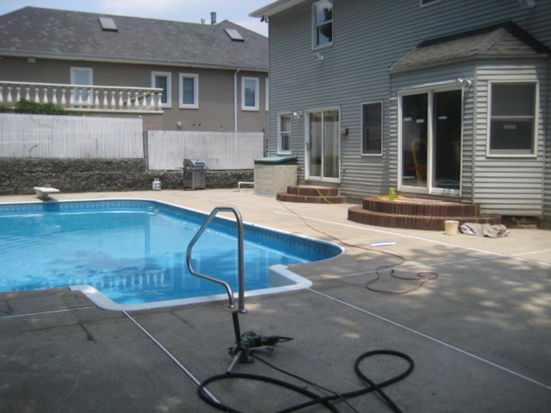 Pool Safety Fence Woodrow Fence Deck Inc