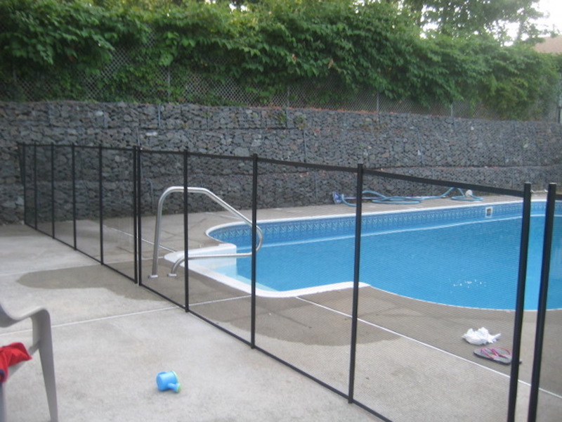 Pool Safety Fence Woodrow Fence Deck Inc