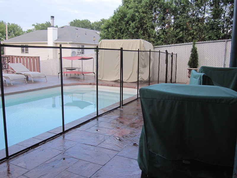 Pool Safety Fence Woodrow Fence Amp Deck Inc